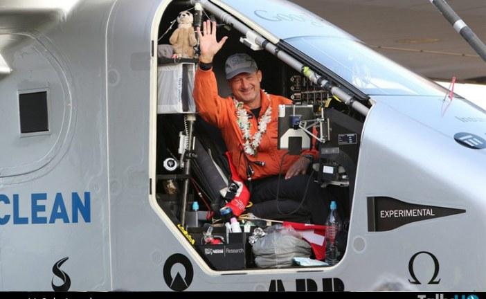Solar Impulse 2, rompió el récord mundial del vuelo sin escalas