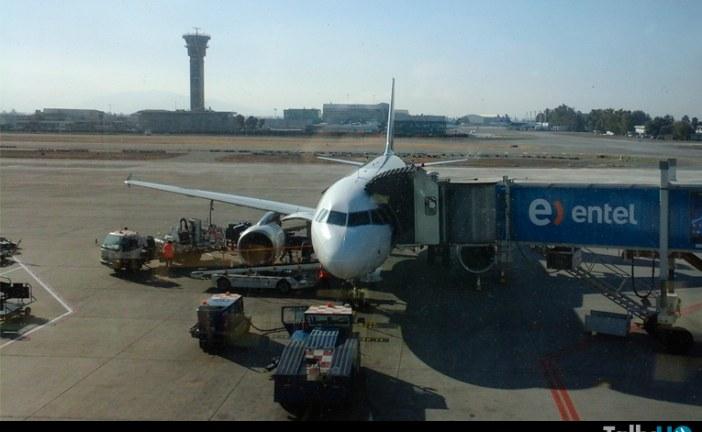 Ministro de Obras Públicas Visita Nueva Plataforma de Aeropuerto de Santiago