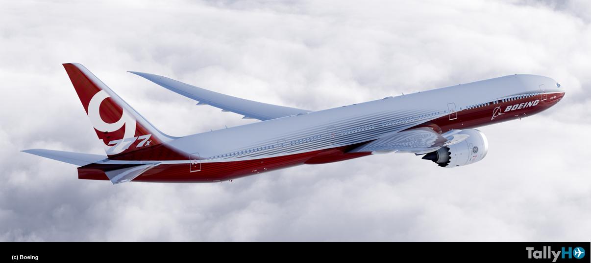 Boeing completa la configuración del B-777X