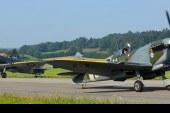 La más grande formación de aviones de la Batalla de Inglaterra desde 1945