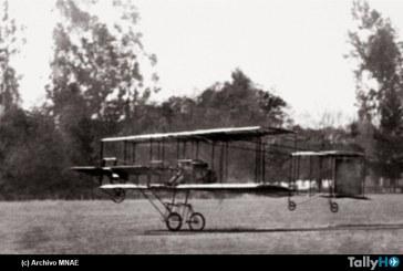 105 años del primer vuelo en avión en Chile