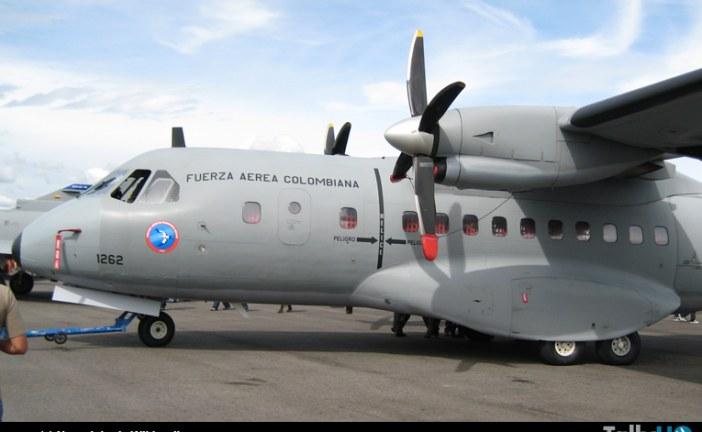 Se estrelló avión de transporte mediano Airbus CN235 de la Fuerza Aérea Colombiana