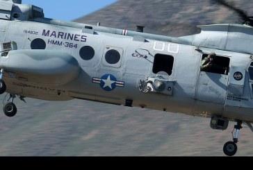 Adiós a los CH-46E Sea Knight del USMC