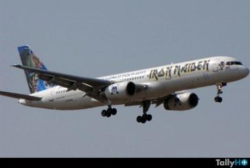 Con nuevo avión, Iron Maiden anuncia el World Tour 2016