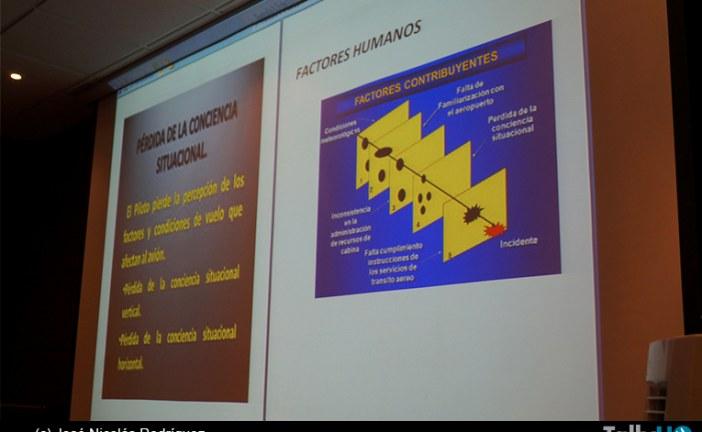 Charlas de Seguridad del Vuelo y Prevención de Accidentes Aéreos en CMAE