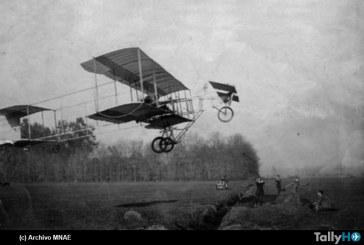 109 años del primer vuelo de un avión en territorio chileno