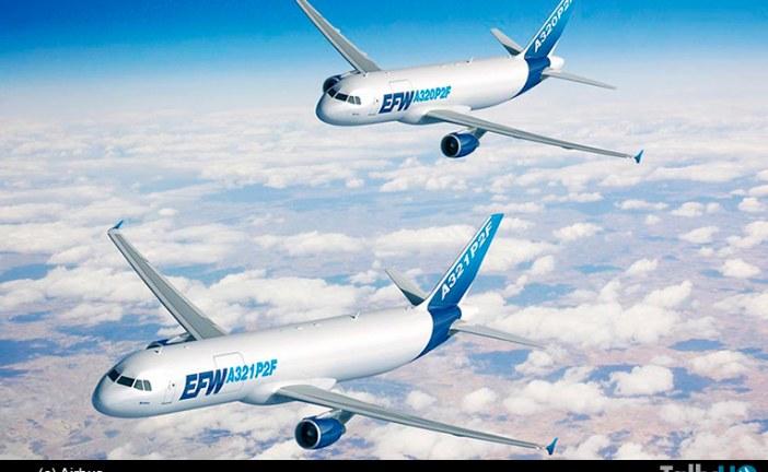 Airbus lanza programa de conversión para sus A-320/321 de pasajeros en avión carguero