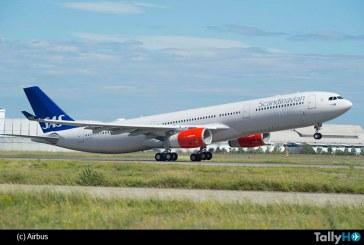 SAS primera aerolínea europea en recibir A330-300, versión 242 toneladas