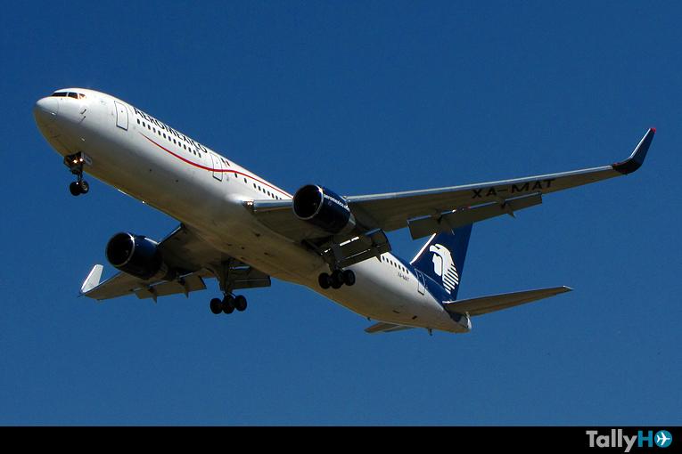 El fin de la era del Boeing 767 en Aeroméxico