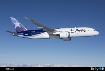 Grupo LATAM Airlines inaugura vuelo directo entre Santiago y Los Ángeles