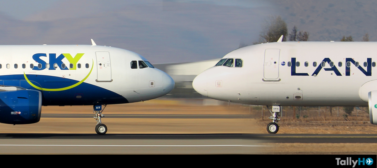"""Comenzó """"guerra"""" de precios entre LAN y Sky Airline"""