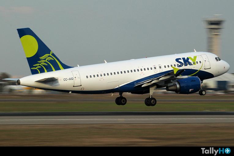Sky Airline reprograma sus vuelos por Paro Aeroportuario
