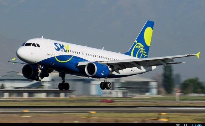Sky Airline reconocida como la aerolínea más puntual del mundo
