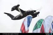 Convertiplano AW-609 establece récord de velocidad entre Reino Unido e Italia