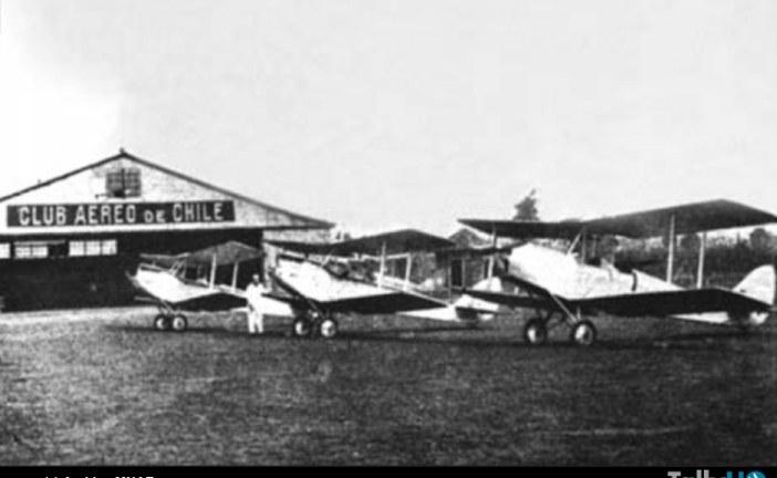 Homenaje 85 años de las primeras instalaciones del Club Aéreo de Chile