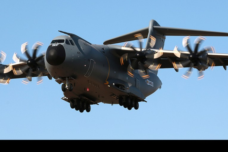 Reino Unido acepta el séptimo Airbus A-400M en su flota
