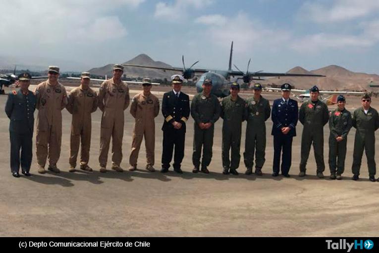 Entrega remodelación de la pista del Aeródromo Militar «El Buitre» en Arica