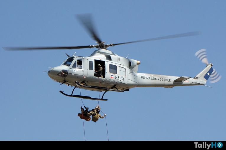 Fuerza Aérea de Chile moviliza unidades en apoyo por terremoto del norte