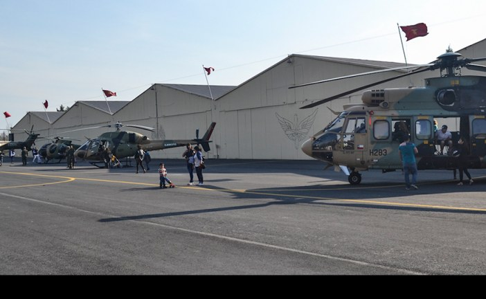 Jornada de Puertas Abiertas 2015, en la Brigada de Aviación del Ejército en Rancagua