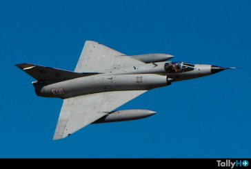 Despedida de los Mirage de la Fuerza Aérea Argentina en Río Gallegos