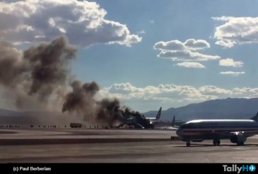 Se incendia Boeing 777-200 de British Airways en Las Vegas