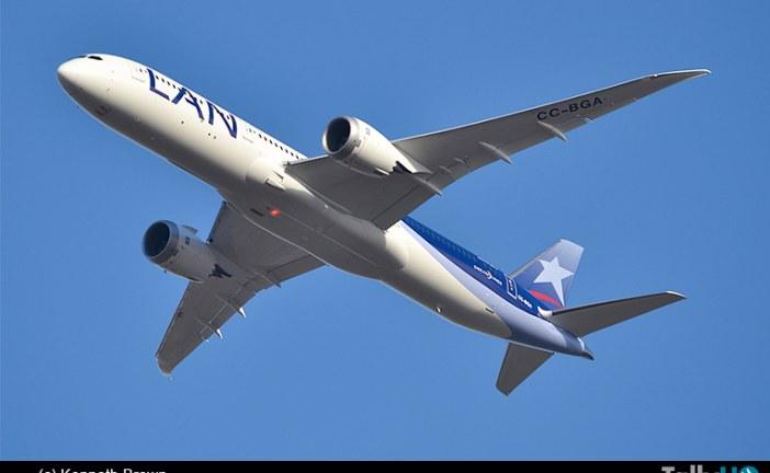 Grupo LATAM anuncia 6 nuevas rutas internacionales