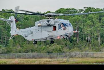 Primer vuelo del Sikorsky CH-53K King Stallion