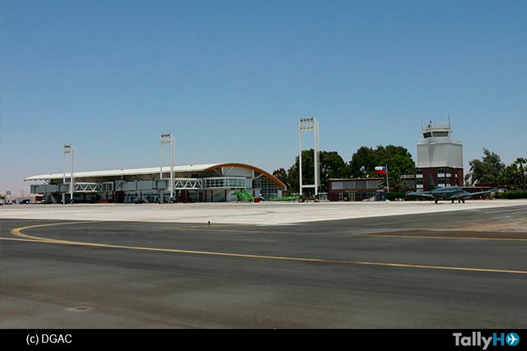 En diciembre finalizarían las obras de mejoramiento del Aeropuerto de Chacalluta de Arica