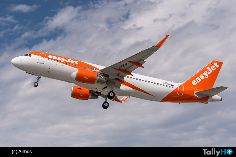 La aerolínea easyJet encarga otros 36 aviones de la Familia A320