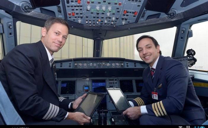 LAN y TAM implementan tecnología para pilotos y tripulantes de cabina