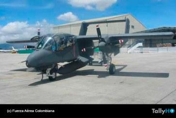 Adiós a los OV-10 Bronco de la Fuerza Aérea de Colombia
