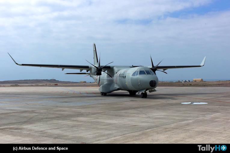 El C295W aterriza en Chile dentro de su gira por América Latina