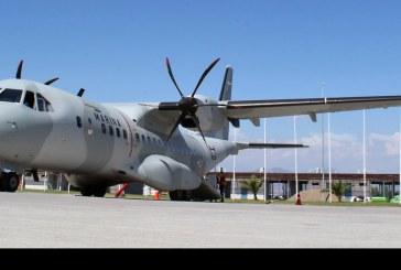 Vuelo demostrativo Airbus C-295W en Chile