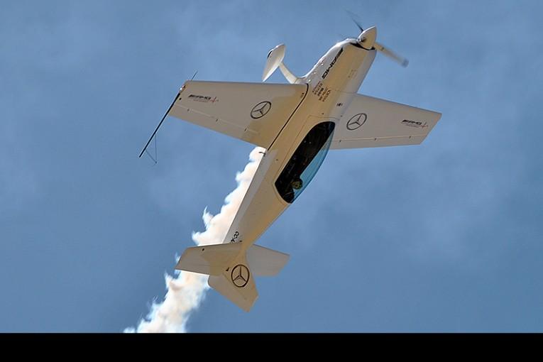 A toda acrobacia se celebró el 80 Aniversario del Club Aéreo Valparaíso Viña del Mar