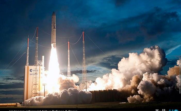 Lanzamiento de Ariane 5: otro éxito por partida doble para Airbus Defence and Space
