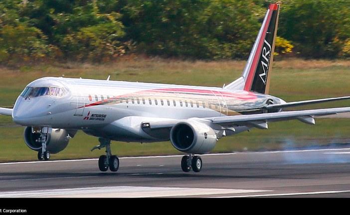 Exitoso primer vuelo del Mitsubishi MRJ90 en Japón