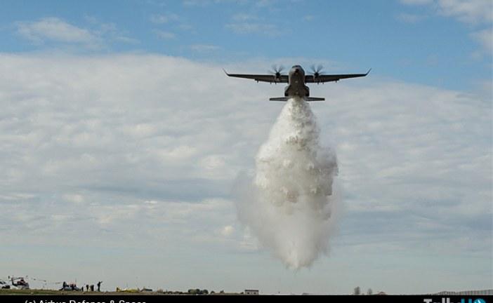 Airbus Defence & Space y el Grupo Coulson colaborarán en el desarrollo del C295W versión contraincendios