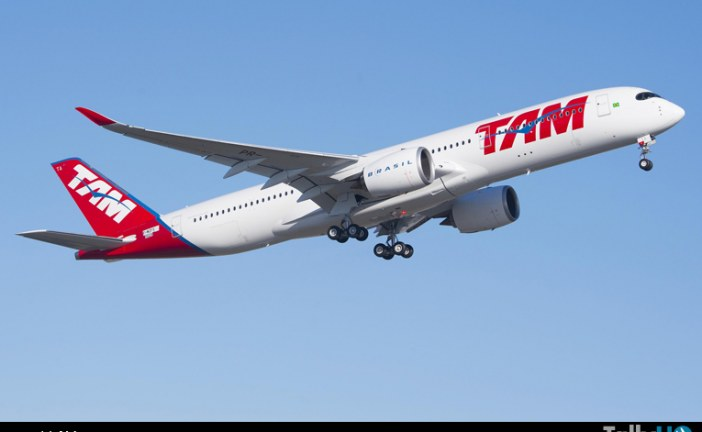 Primer A350 XWB para TAM Airlines realizó su primer vuelo