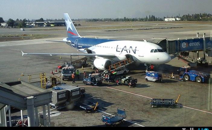 Lan y TAM informan medidas en sus vuelos por posible paro el 17 y 18 de diciembre en Chile