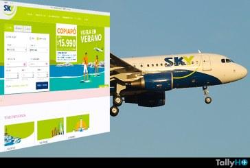 SKY Airline, lo tercero más buscado en Google en Chile este 2015