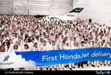 Primer HondaJet de producción fue entregado a su cliente