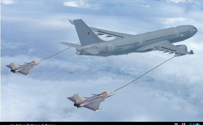 Francia confirma un pedido por ocho aviones cisterna Airbus A330 MRTT