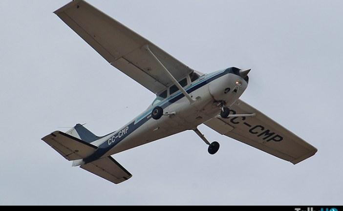 Se accidenta avión en Tirúa