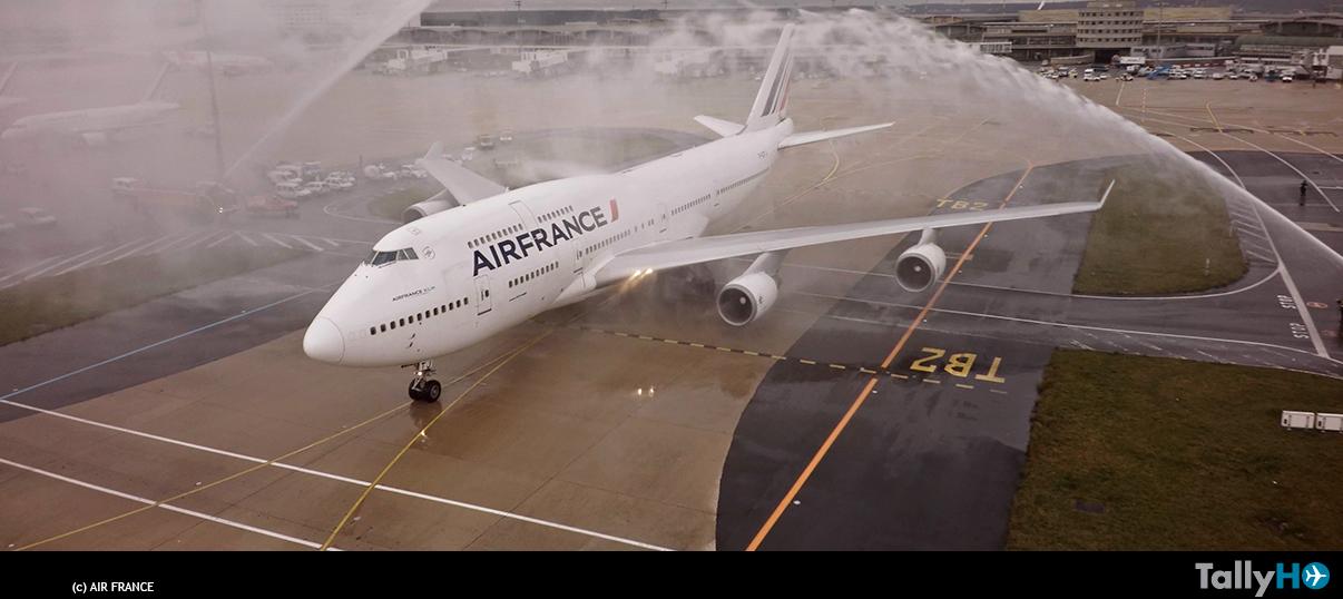 Adiós a los legendarios Boeing 747 de Air France