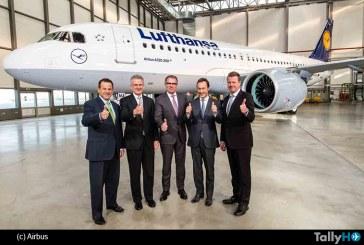 La entrega del primer A320neo abre una nueva era en la aviación comercial