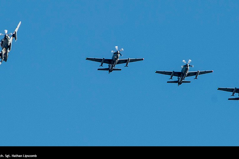 Fuerza Aérea de Afganistán recibió primeros A-29 Súper Tucano