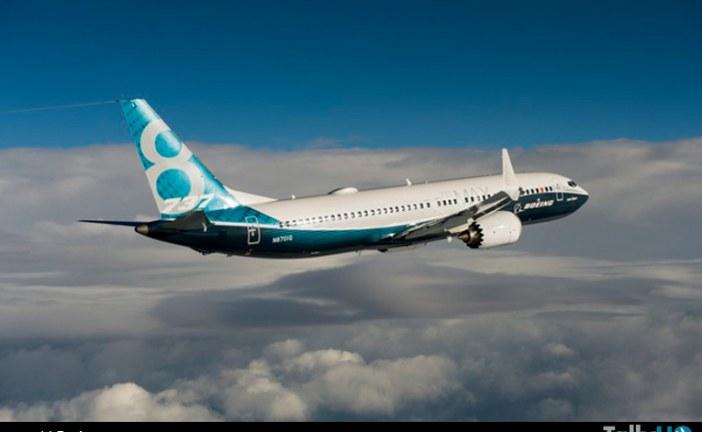 Primer vuelo del Boeing 737 MAX