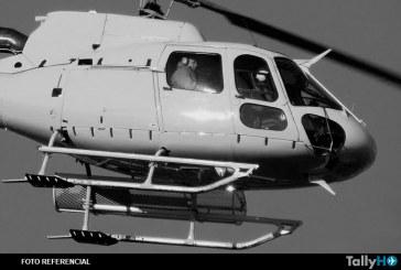Se accidenta helicóptero en Cerro San Cristóbal en Santiago