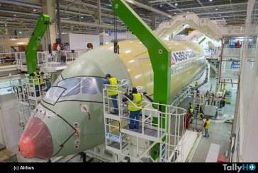 Airbus comienza el ensamblaje final del A350-1000