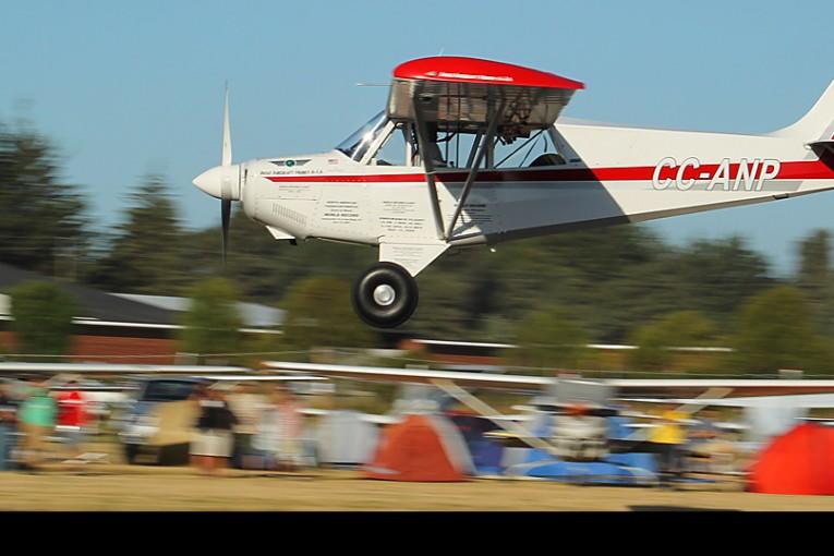 "Aviat A-1A Husky de Francisco Guerra fue la ""Aeronave más Destacada del Festival Aéreo de Villarrica"""